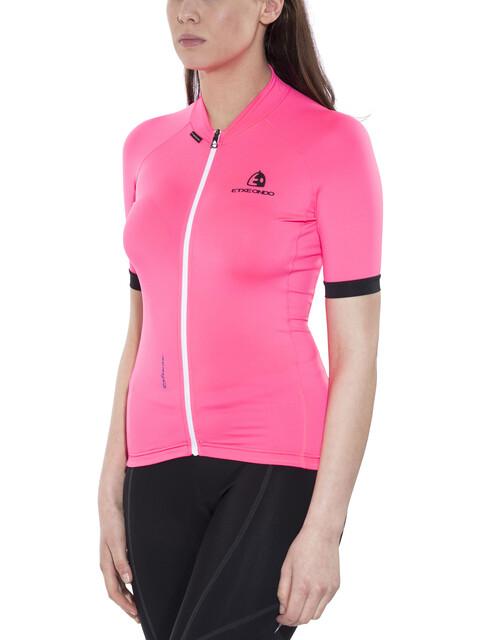 Etxeondo Maillot M/C Entzuna S/S Jersey Women Pink/Black